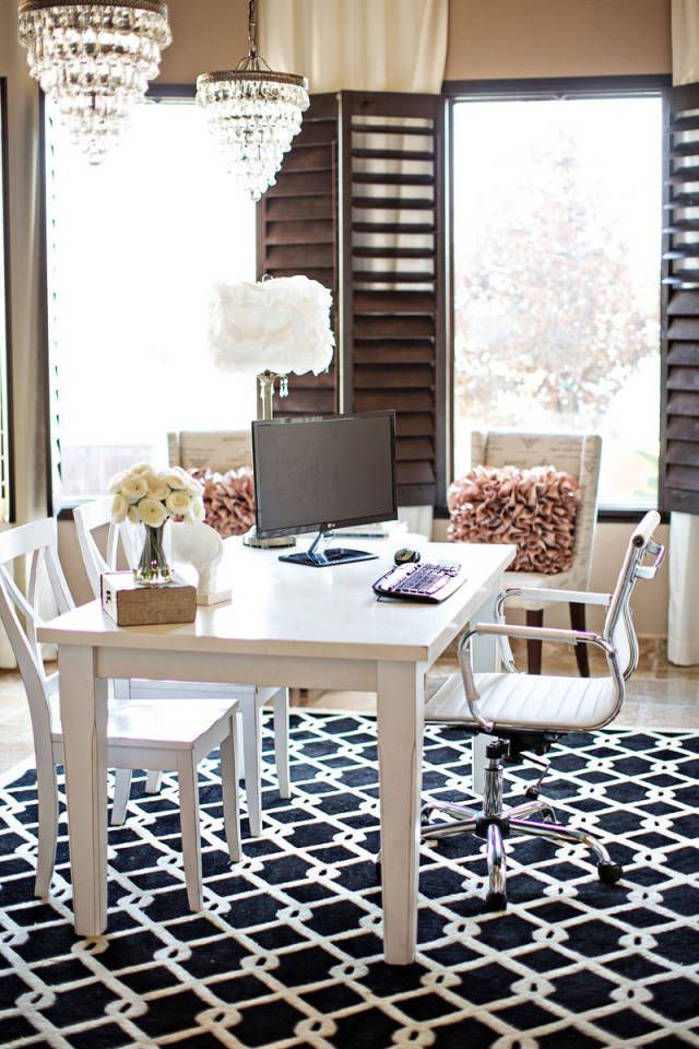 Magnificent 30 Gorgeous Home Office Designs Largest Home Design Picture Inspirations Pitcheantrous