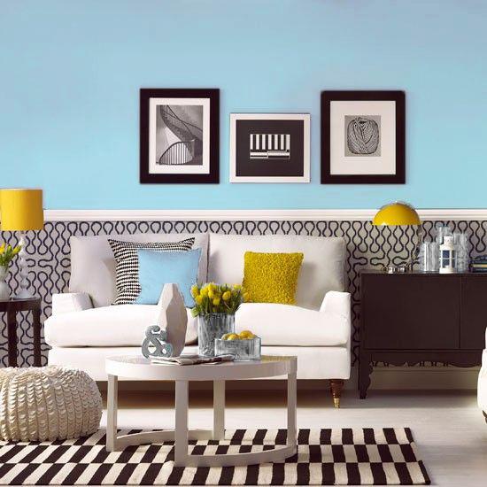 Chameleon Design Living Room Robins Egg Blue