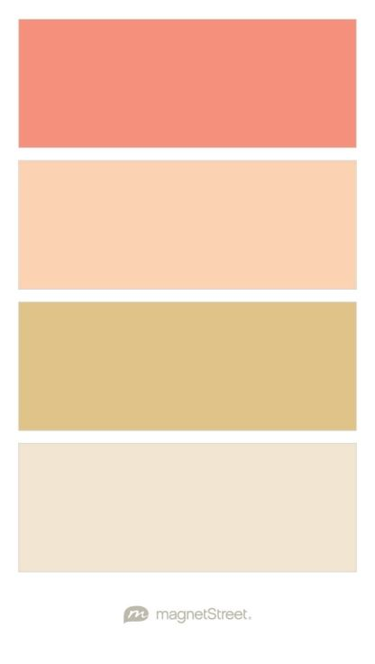 C And Gold Paint Color Palette