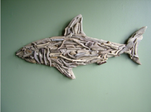 Shark Wall Art 24 awesome shark week inspired interior design ideas
