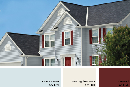 Exterior Paint Color Ideas; 8 Exterior Paint Trends