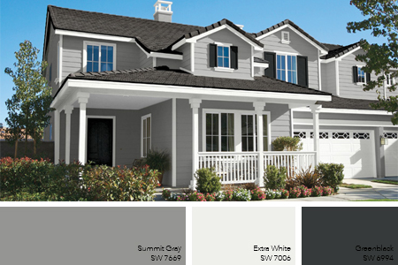Exterior paint color ideas 8 exterior paint trends - Grey exterior house paint ideas ideas ...