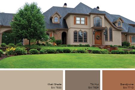 Exterior paint color ideas 8 exterior paint trends for Neutral paint scheme for homes