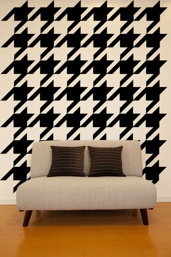 Whats The Deal With Houndstooth Home Decor