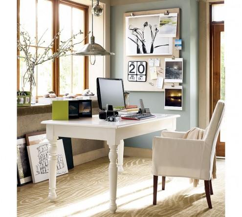 white office design.  White Powder Blue And White Home Office In White Office Design