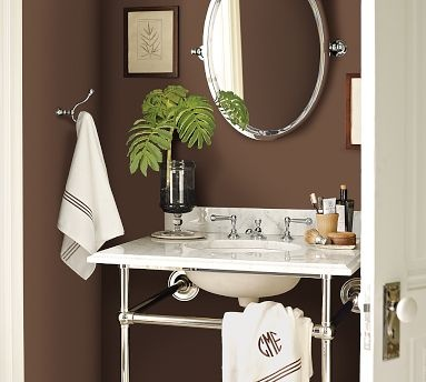 Rugged Brown By Sherwin Williams A Warm Gorgeous Color For Bathroom