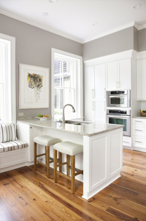 Our Favorite Kitchen Paint Colors By Sherwin Williams - Kitchen paint colors with grey cabinets