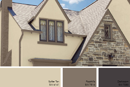 Tan Exterior Paint Color