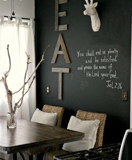 Chalkboard Wall 14 Ways To Fall In Love