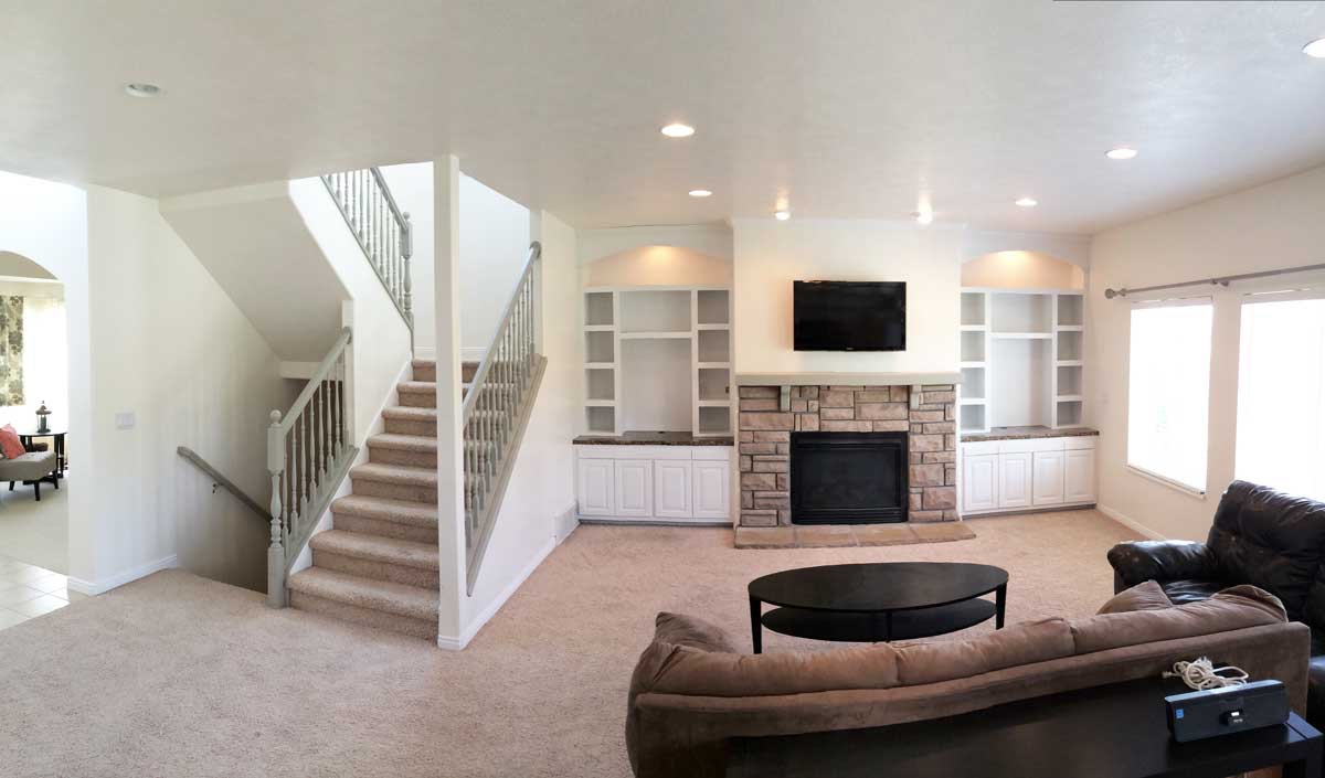 Basement - Entertainment Center