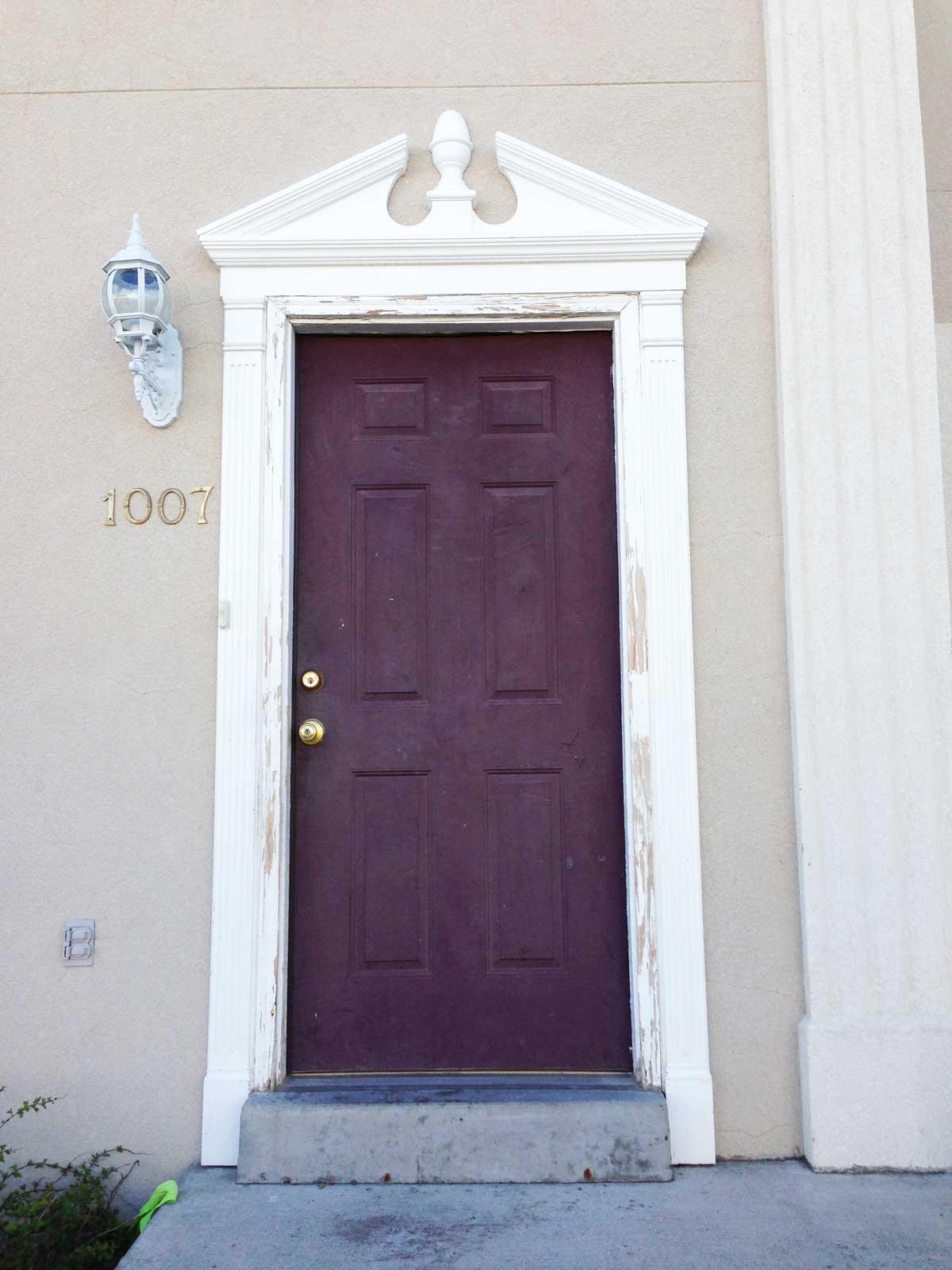 Exterior Door Painter In Salt Lake City