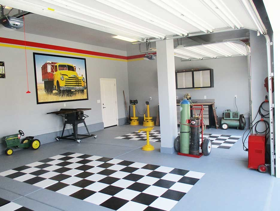 Garage Painting Company in Utah County