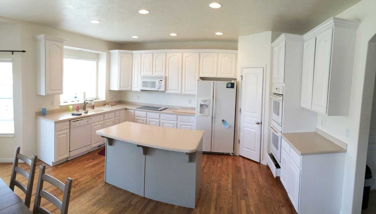 after- Refinishing Kitchen Cabinets Houston {loop_count}