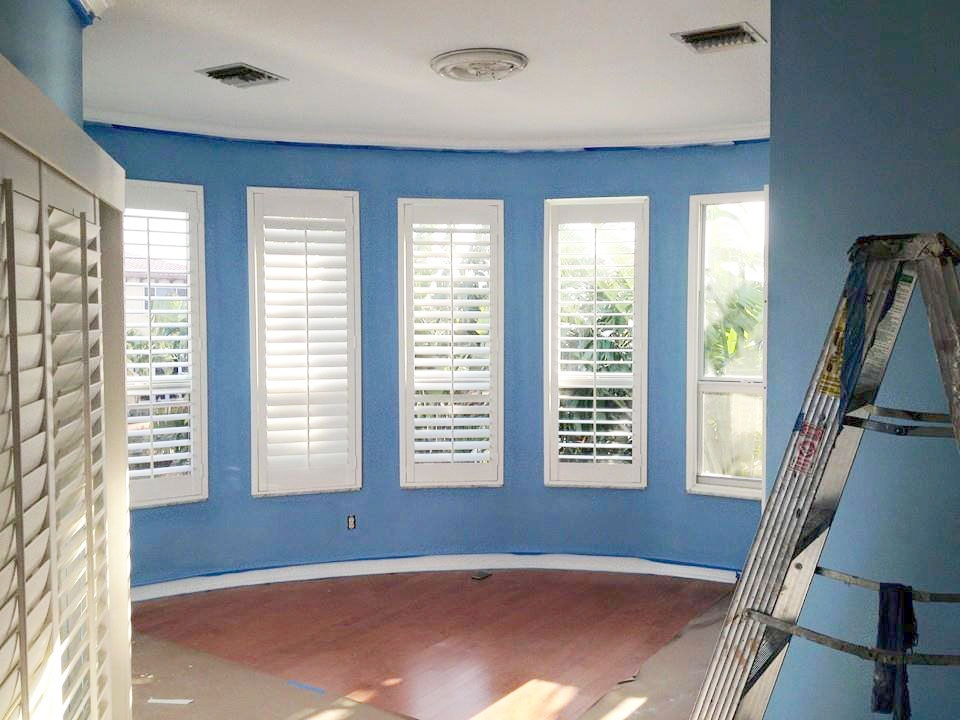 Painting services boca raton painter1 of boca raton - Living room movie theater boca raton ...