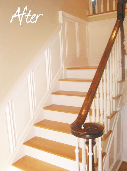 after- Stairway Molding Dripping Springs {loop_count}